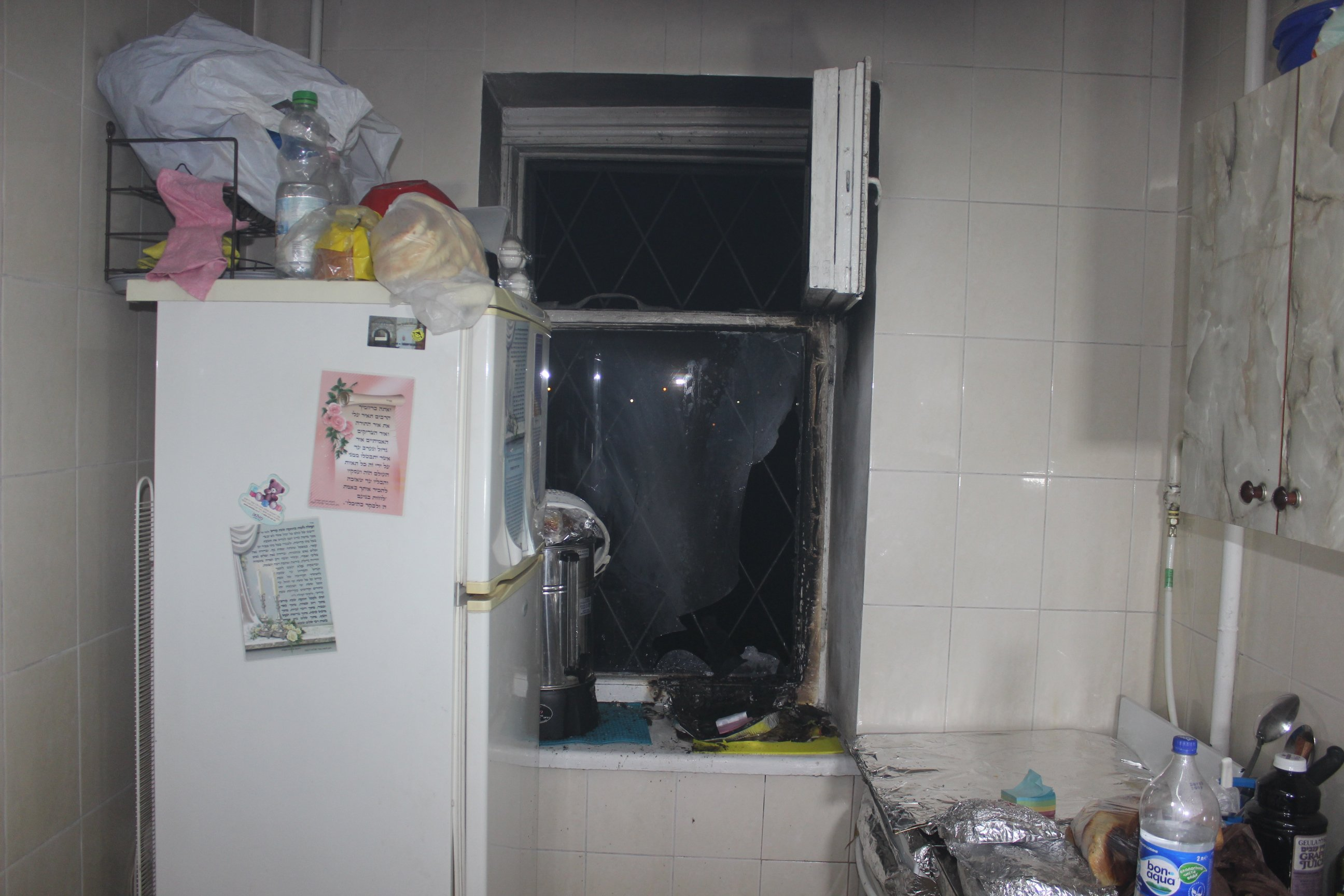 Хасиды в Умани чуть не сожгли съемную квартиру (фото)