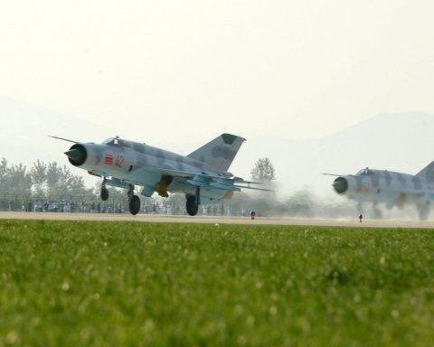 пвінічнокорейська авіація, КНДР