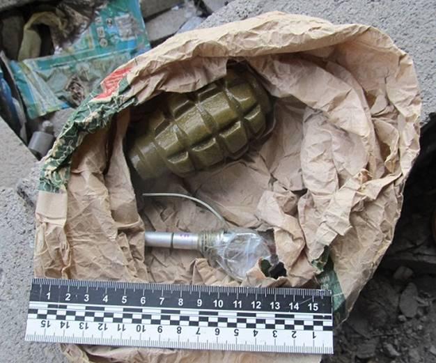 УКиєві біля паркингу знайшли гранату