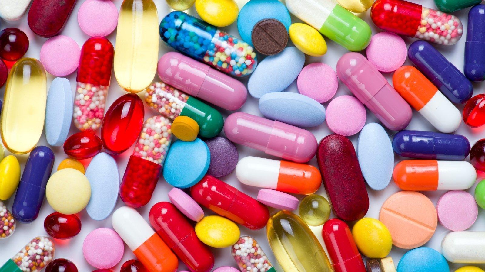 ліки, пігулки, антибіотики