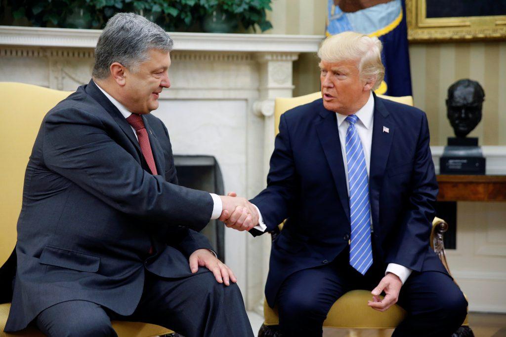 Стало відомо, про що говоритимуть Порошенко і Трамп 21 вересня