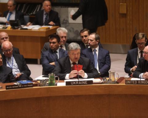 Президент Порошенко продемонстрировал Совбеза ООН доказательства российской агрессии на Донбассе (фото)