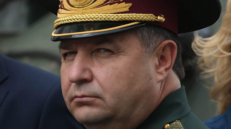 Полторак заявил о готовности уйти в отставку