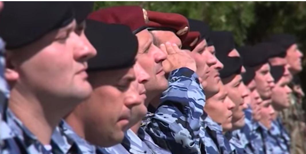 Предателями изкрымского «Беркута» раздали награды, есть видео