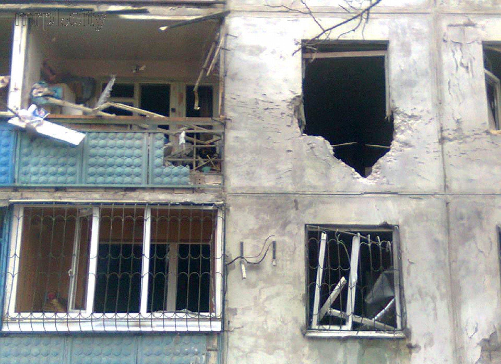 ВМариуполе произошел взрыв вмногоэтажке, умер мужчина