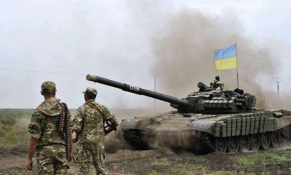 ВЧерниговской области проходят танковые бои