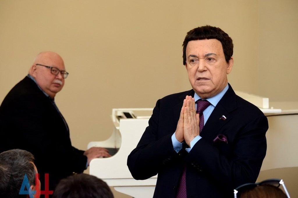 Кобзона назначили «почетным руководителем» музыкальной академии вДонецке