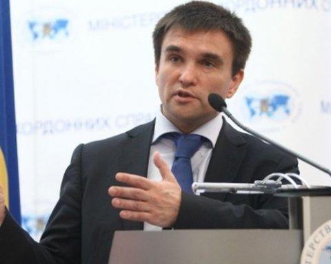 Мир на Донбассе: Климкин озвучил ключевое условие