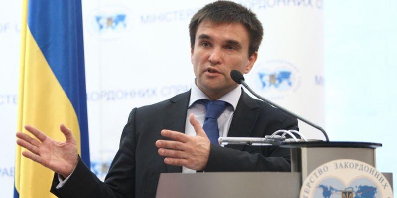 Мир на Донбасі: Клімкін озвучив ключову умову