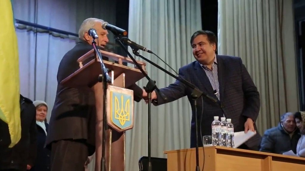 Саакашвили анонсировал «турне» по Украине
