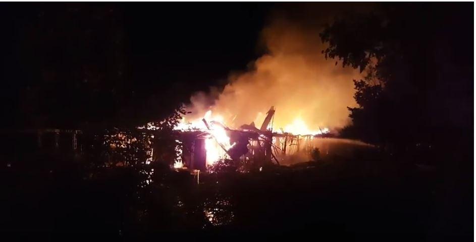 Потужний вибух у Києві стався вночі на Русанівці (відео)
