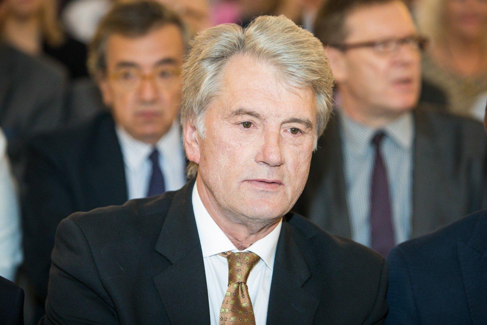 Ющенко вразив заявою про фінансування війни на Донбасі