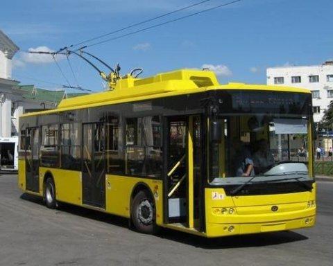 У Києві змінять маршрути руху кількох тролейбусів