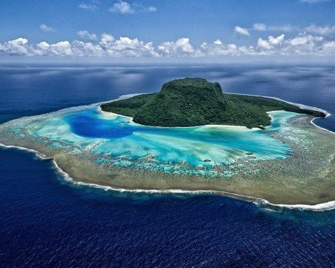У Бермудському трикутнику раптово виник небезпечний острів