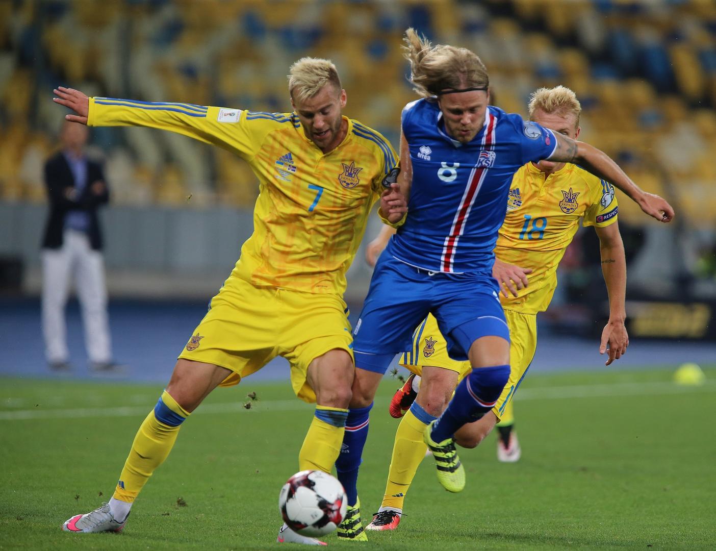 ЧМ-2018, квалификация: Украина — Исландия