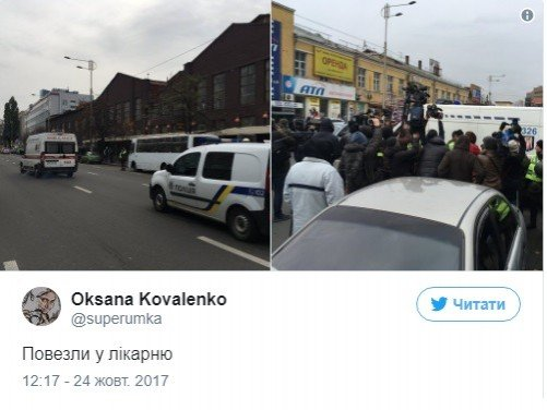 Дело лидера ОУН: Коханивского из суда перевели в больницу