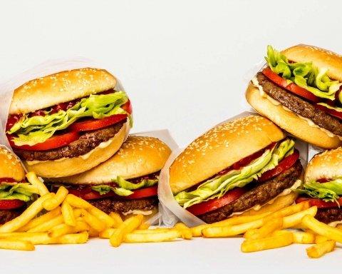бургер, фастфуд, макдональдс