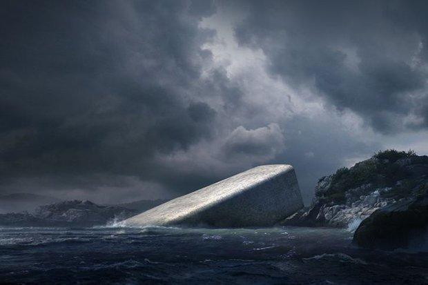 Вевропейских странах построят 1-ый подводный ресторан