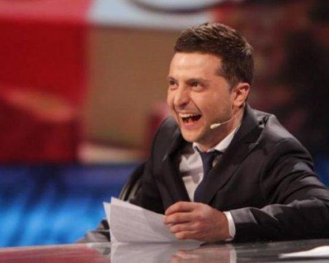 Зеленський висміяв президентські амбіції Вакарчука