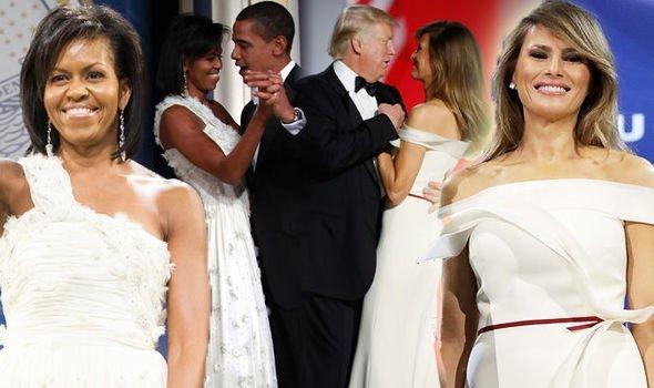 Меланія Трамп та Мішель Обама