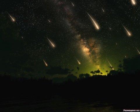 Взрыв астероида в небе над Китаем (видео)