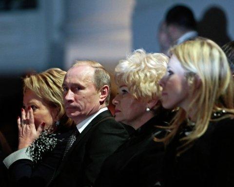 Путін і Ксенія Собчак