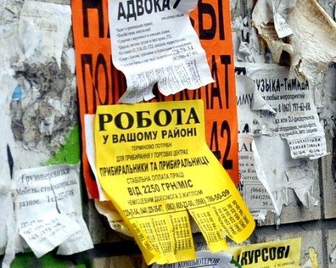 В Україні офіційно без роботи знаходяться 303 тис.осіб