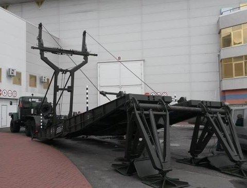 Тяжелый и прочный: украинские разработчики представили механизированный мост
