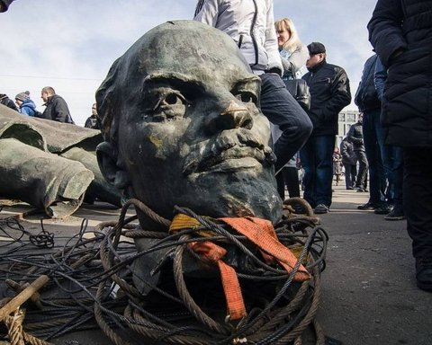 Скільки коштує сьогодні вождь пролетаріату: відповідь у селі на Київщині (відео)