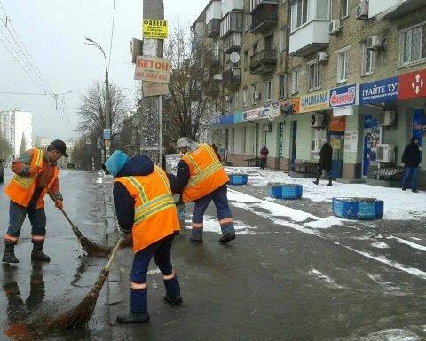 Киевлян предупредили о снеге с дождем