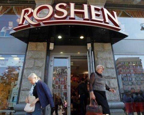 Подбежал, облил бензином и поджег: магазин Roshen пылал в Киеве