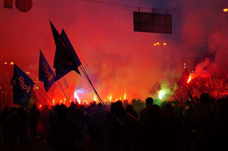 Сотні націоналістів заполонили Київ (фото)
