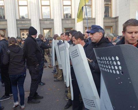 Затриманих під Радою активістів відпустили