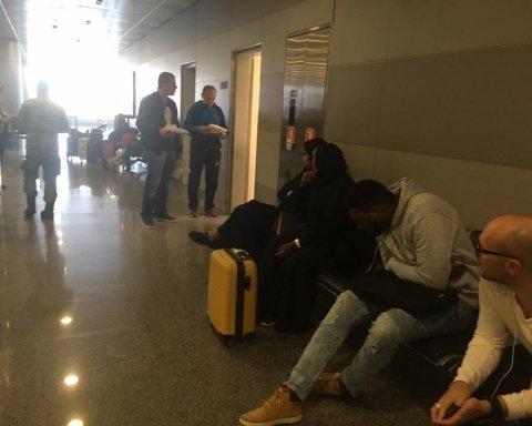 """Зама Гужви затримали в аеропорту """"Бориспіль"""""""