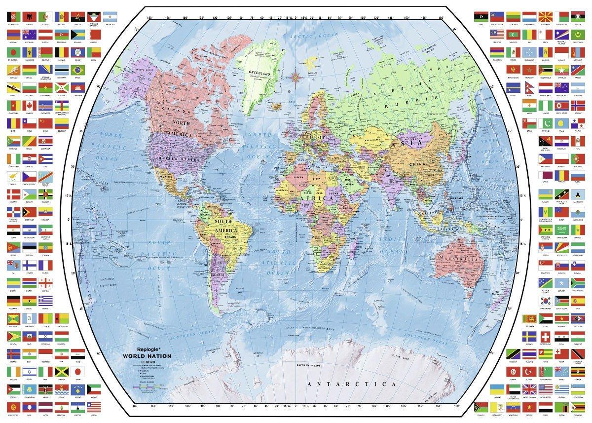 світ, мапа, мапа світу, країни світу