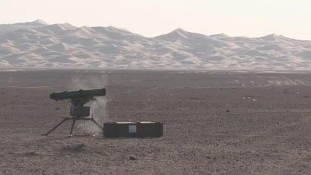 Турчинов обиспытаниях противотанкового ракетного комплекса «Скиф»: Уничтожает любую бронетехнику