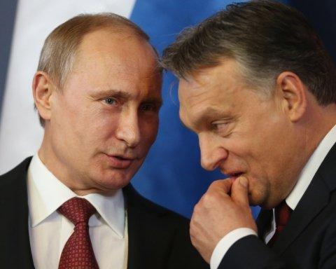 Віктор Орбан і Путін