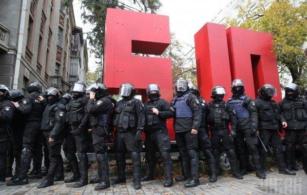 Корову Балашова вдребезги разбили в Киеве (фото)