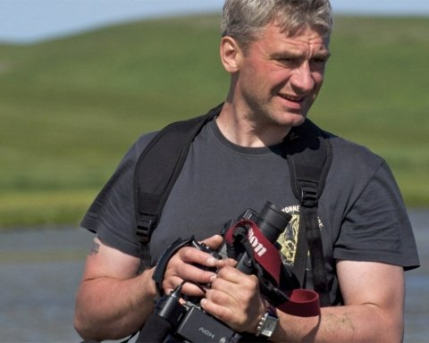 кореспондент НТВ В'ячеслав Нємишев