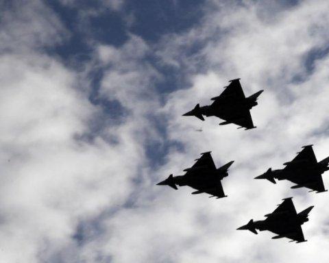 винищувачі Eurofighter