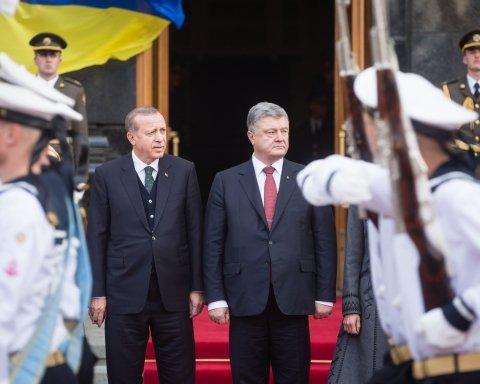 Ердоган та Порошенко