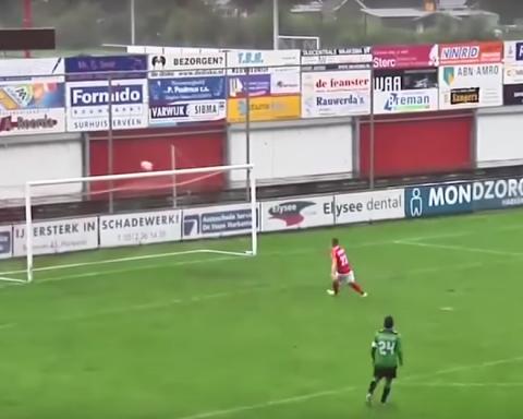 Фанати ридають: футболіст клубу третьої ліги Нідерландів не влучив у порожні ворота