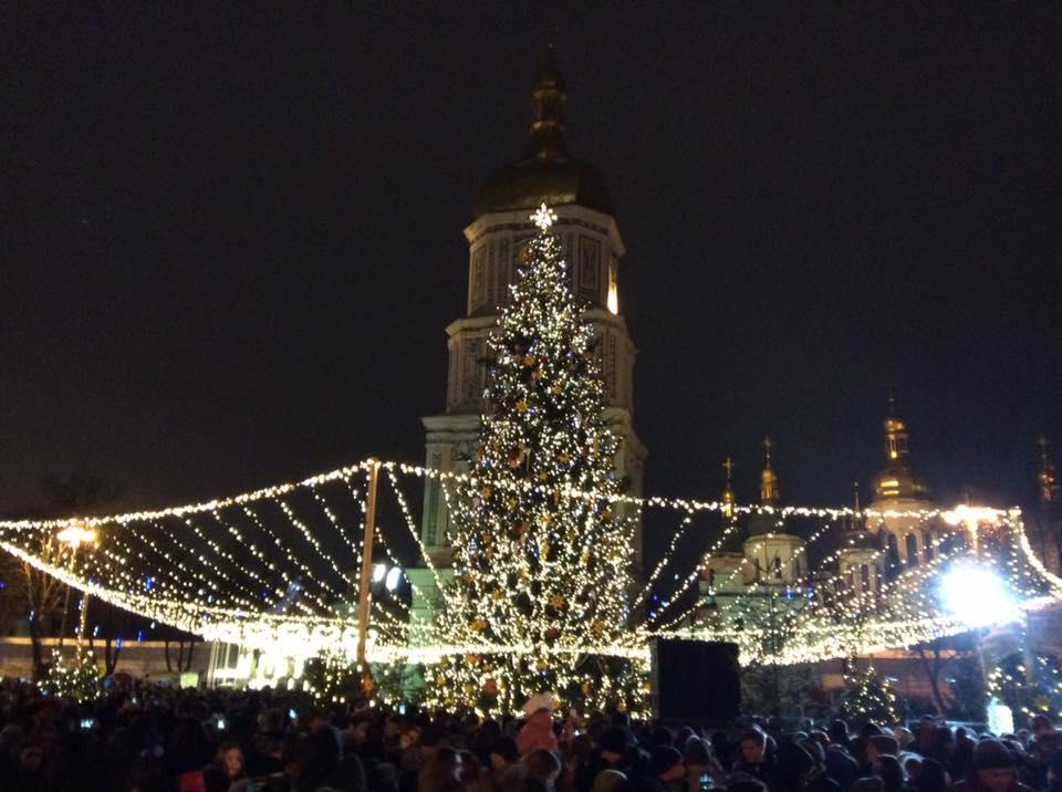 Украинцев порадовали новостью о главной елке страны