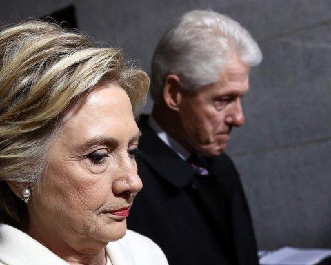 Білл і Гілларі Клінтон