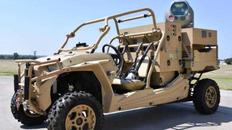 ВСША показали универсальную лазерную пушку, которая дистанционно уничтожила беспилотник