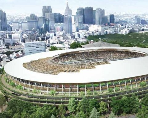 стадіон у Токіо, Олімпіада