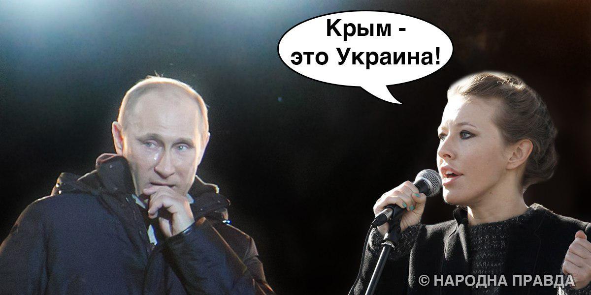 «Кримський фактор» на президентських виборах в Росії