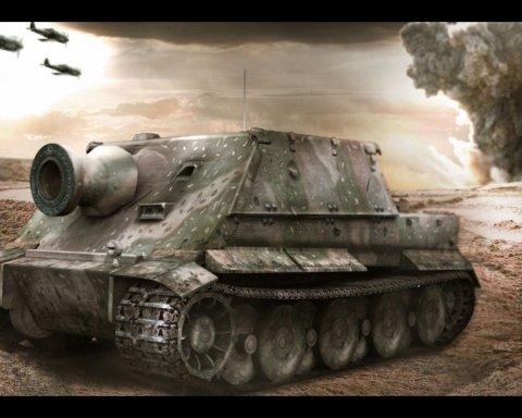 До України привезли найгрізнішу зброю Гітлера (відео)