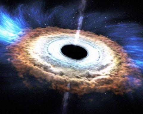 """У NASA зафіксували, як з """"чорної діри"""" вилетів невідомий об'єкт"""