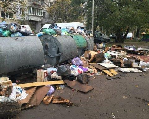Киян розлютило сміття в центрі столиці
